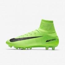 Chaussures de sport Nike Mercurial Superfly V AG-PRO homme Vert électrique/Vert ombre/Blanc/Noir
