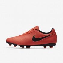 Chaussures de sport Nike Magista Ola II FG homme Cramoisi total/Mangue brillant/Noir
