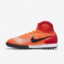 Chaussures de sport Nike MagistaX Proximo II TF homme Cramoisi total/Rouge université/Rose atomique/Noir