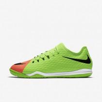 Chaussures de sport Nike HypervenomX Finale II IC homme Vert électrique/Hyper orange/Mangue brillant/Noir