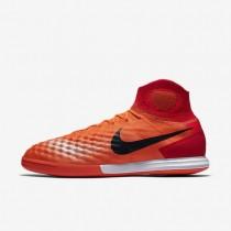 Chaussures de sport Nike MagistaX Proximo II IC homme Cramoisi total/Rouge université/Rose atomique/Noir