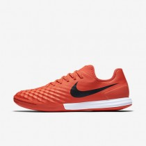 Chaussures de sport Nike MagistaX Finale II IC homme Orange max/Cramoisi total/Noir