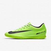 Chaussures de sport Nike Mercurial Vortex III IC homme Vert électrique/Citron flash/Blanc/Noir