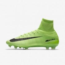 Chaussures de sport Nike Mercurial Superfly V FG homme Vert électrique/Vert ombre/Blanc/Noir