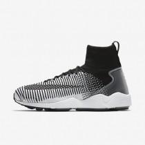 Chaussures de sport Nike Zoom Mercurial Flyknit homme Noir/Blanc