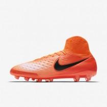 Chaussures de sport Nike Magista Orden II AG-PRO homme Cramoisi total/Rouge université/Mangue brillant/Noir