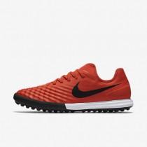 Chaussures de sport Nike MagistaX Finale II TF homme Orange max/Cramoisi total/Noir