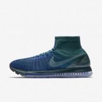 Chaussures de sport Nike Lab Air Zoom All Out Flyknit homme Turquoise atomique sombre/Bleu coureur/Bleu marine collège/Jade glacé
