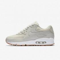 Chaussures de sport Nike Air Max 90 Premium femme Beige clair/Jaune gomme/Blanc/Beige clair