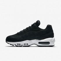 Chaussures de sport Nike Air Max 95 Premium femme Noir/Blanc sommet