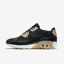 Chaussures de sport Nike Air Max 90 Ultra 2.0 Flyknit Metallic femme Noir/Noir