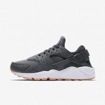 Chaussures de sport Nike Air Huarache SE femme Gris foncé/Jaune gomme/Blanc/Gris foncé