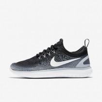 Chaussures de sport Nike Free RN Distance 2 femme Noir/Gris froid/Gris foncé/Blanc