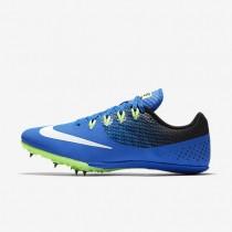 Chaussures de sport Nike Zoom Rival S 8 femme Hyper cobalt/Noir/Vert ombre/Blanc