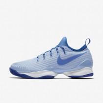 Chaussures de sport Nike Court Air Zoom Ultra React Clay femme Bleu glacé/Bleu université/Blanc/Bleu comète