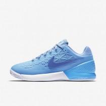 Chaussures de sport Nike Court Zoom Cage 2 Clay femme Bleu glacé/Bleu université/Blanc/Bleu comète