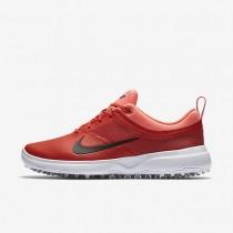 Chaussures de sport Nike Akamai femme Orange max/Rouge lave brillant/Noir