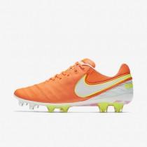 Chaussures de sport Nike Tiempo Legend VI FG femme Aigre/Volt/Hyper rose/Blanc