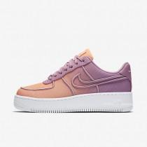 Chaussures de sport Nike Air Force 1 Low Upstep BR femme Orchidée/Crépuscule brillant/Bleu glacier/Blanc