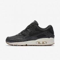 Chaussures de sport Nike Air Max 90 Premium femme Noir/Voile/Gomme marron/Noir