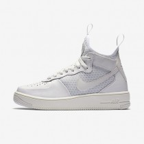 Chaussures de sport Nike Air Force 1 UltraForce Mid femme Blanc sommet/Platine pur/Blanc sommet