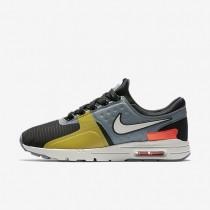 Chaussures de sport Nike Air Max Zero SI femme Noir/Gris froid/Cramoisi total/Beige clair