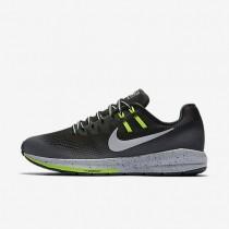 Chaussures de sport Nike Air Zoom Structure 20 Shield femme Noir/Gris foncé/Gris loup/Argent métallique