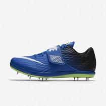 Chaussures de sport Nike High Jump Elite femme Hyper cobalt/Noir/Vert ombre/Blanc