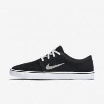 Chaussures de sport Nike SB Portmore femme Noir/Blanc/Gomme marron clair/Gris moyen
