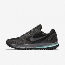 Chaussures de sport Nike Air Zoom Wildhorse 3 GTX femme Noir/Hyper turquoise/Gris froid/Gris foncé