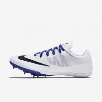 Chaussures de sport Nike Zoom Rival S 8 femme Blanc/Bleu coureur/Noir