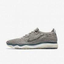 Chaussures de sport Nike Lab Air Zoom Fearless Flyknit femme Charbon de bois clair/Voile/Jade glacé/Charbon de bois clair