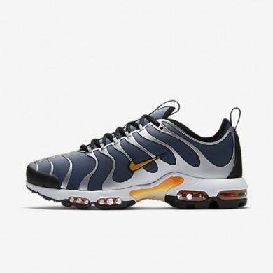 Chaussures de sport Nike Air Max Plus Tn Ultra homme Bleu-gris/Marine arsenal/Blanc/Vert électrique
