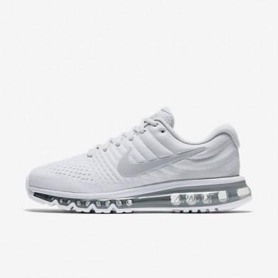 Chaussures de sport Nike Air Max 2017 homme Platine pur/Blanc/Blanc cassé/Gris loup