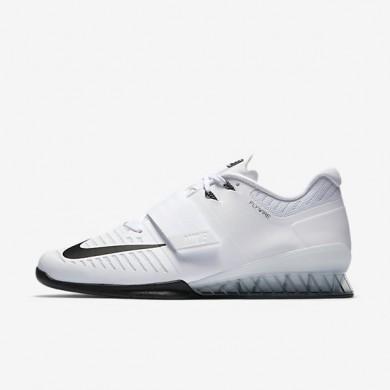Chaussures de sport Nike Romaleos 3 homme Blanc/Volt/Noir