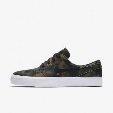 Chaussures de sport Nike SB Zoom Stefan Janoski Premium High Tape homme Blanc/Blanc/Multicolore/Noir