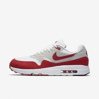 Chaussures de sport Nike Air Max 1 Ultra 2.0 LE homme Blanc/Gris neutre/Noir/Rouge université