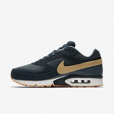 Chaussures de sport Nike Air Max BW Premium homme Marine arsenal/Renard bleu/Bleu-gris/Jaune gomme