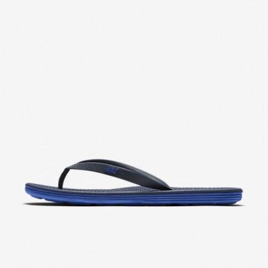 Chaussures de sport Nike Solarsoft II homme Bleu nuit marine/Bleu coureur
