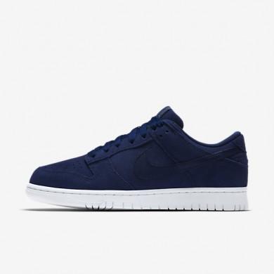 Chaussures de sport Nike Dunk Retro Low homme Bleu binaire/Blanc/Bleu binaire