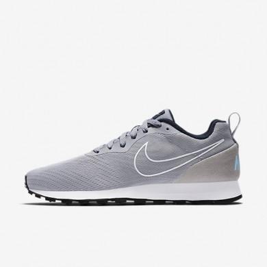 Chaussures de sport Nike MD Runner 2 Breathe homme Gris loup/Marine arsenal/Bleu calme/Gris loup