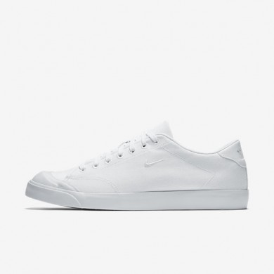 Chaussures de sport Nike All Court 2 Low Canvas homme Blanc/Blanc