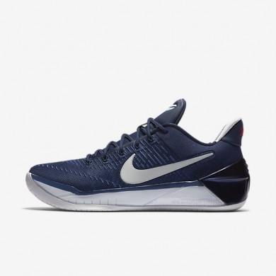 Chaussures de sport Nike Kobe A.D. homme Bleu nuit marine/Rouge université/Platine pur