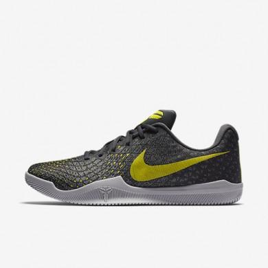 Chaussures de sport Nike Kobe Mamba Instinct homme Poussière/Vert citron électrique/Platine pur/Anthracite