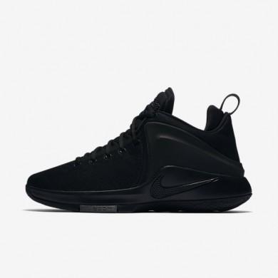 Chaussures de sport Nike LeBron Witness homme Noir/Gris foncé/Noir