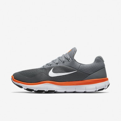 Chaussures de sport Nike Free Trainer V7 homme Gris froid/Noir/Blanc/Cramoisi ultime