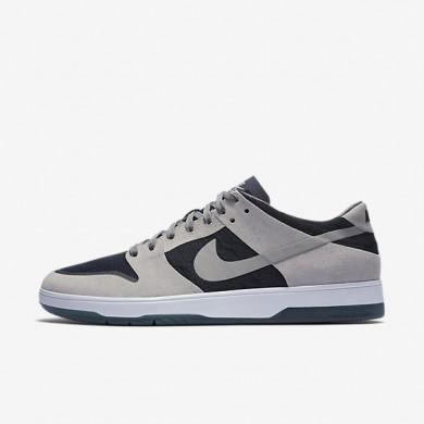 Chaussures de sport Nike SB Dunk Low Elite homme Gris moyen/Obsidienne foncée/Blanc/Gris moyen