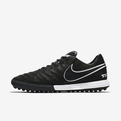 Chaussures de sport Nike TiempoX Proximo Tech Craft 2.0 TF homme Noir/Argent métallique/Gris foncé/Noir