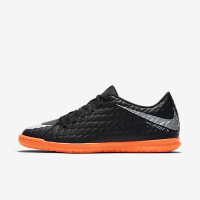 Chaussures de sport Nike HypervenomX Phade 3 IC homme Noir/Noir/Cramoisi total/Argent métallique