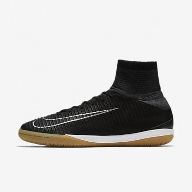 Chaussures de sport Nike MercurialX Proximo II Tech Craft 2.0 IC homme Noir/Argent métallique/Gris foncé/Noir